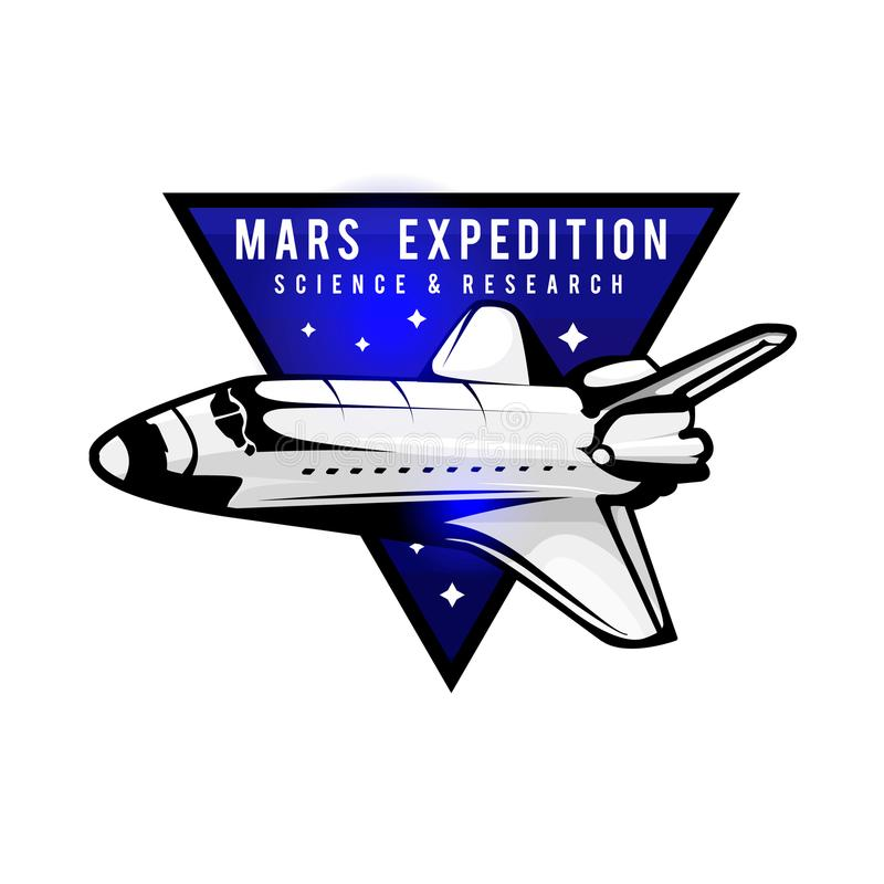 Space mission to Mars vector illustration stock vector vector illustration