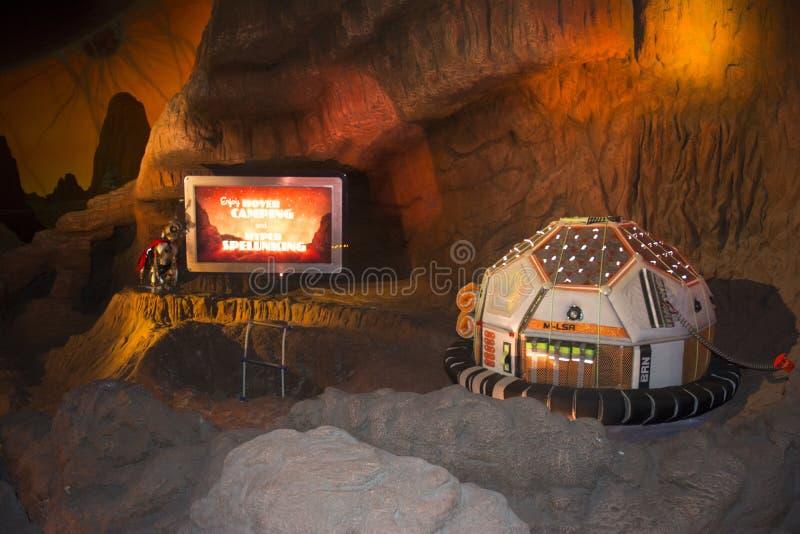 Space mountain - star wars - magic kingdom tomorrow land royalty free stock photos