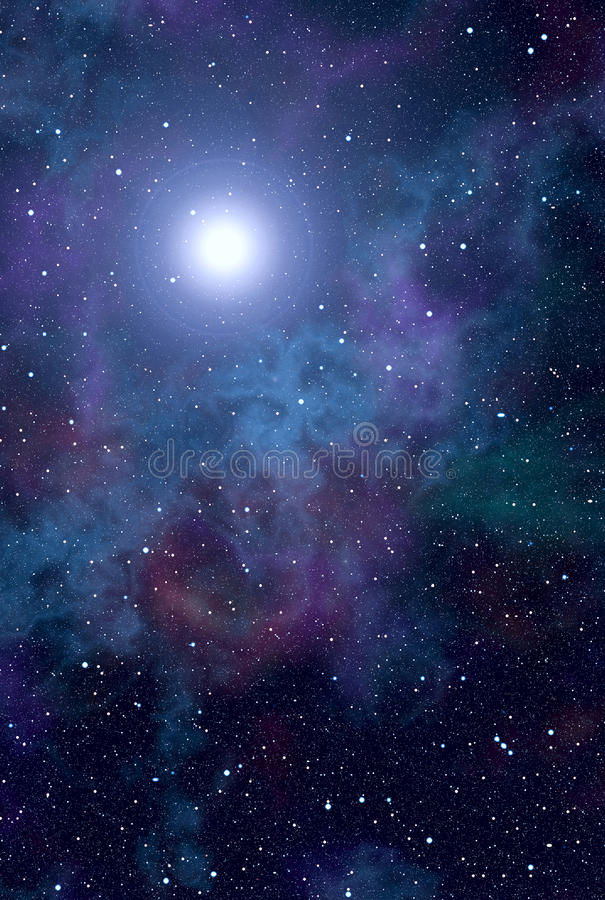 Download Space nebula star stock illustration. Image of universe - 18815545