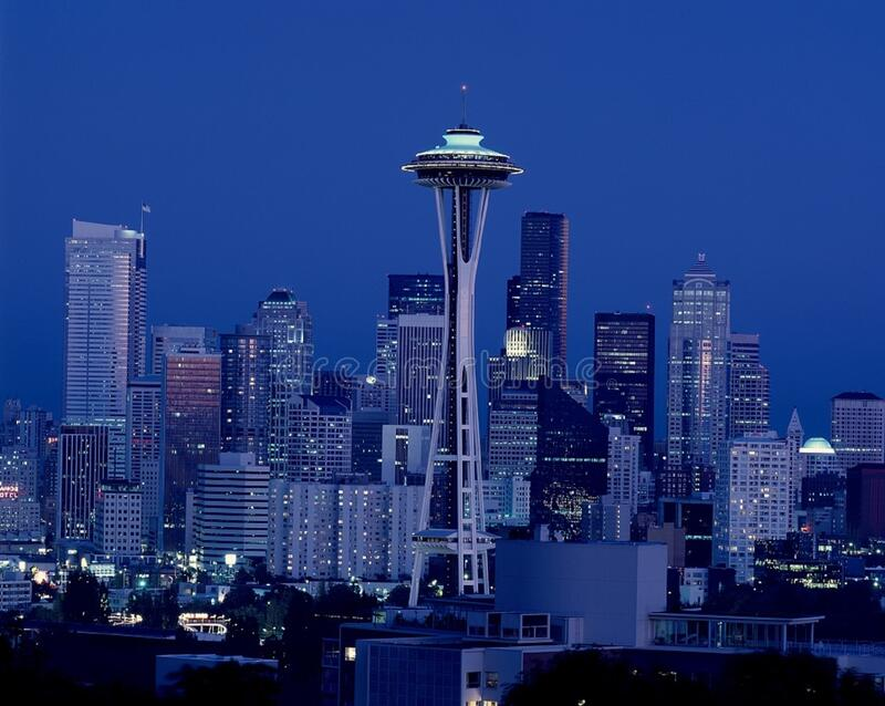 Space Needle Photo royalty free stock photography