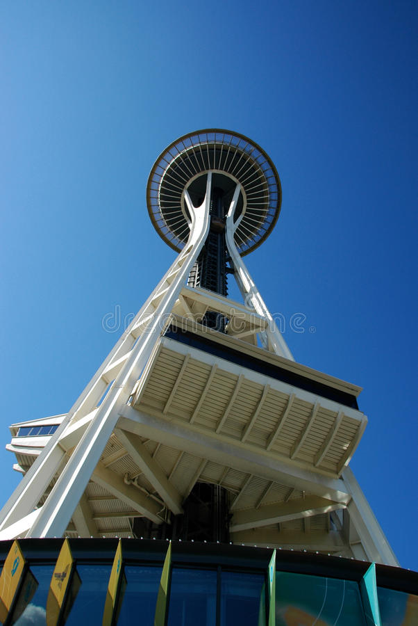 Space Needle Seattle royalty free stock image
