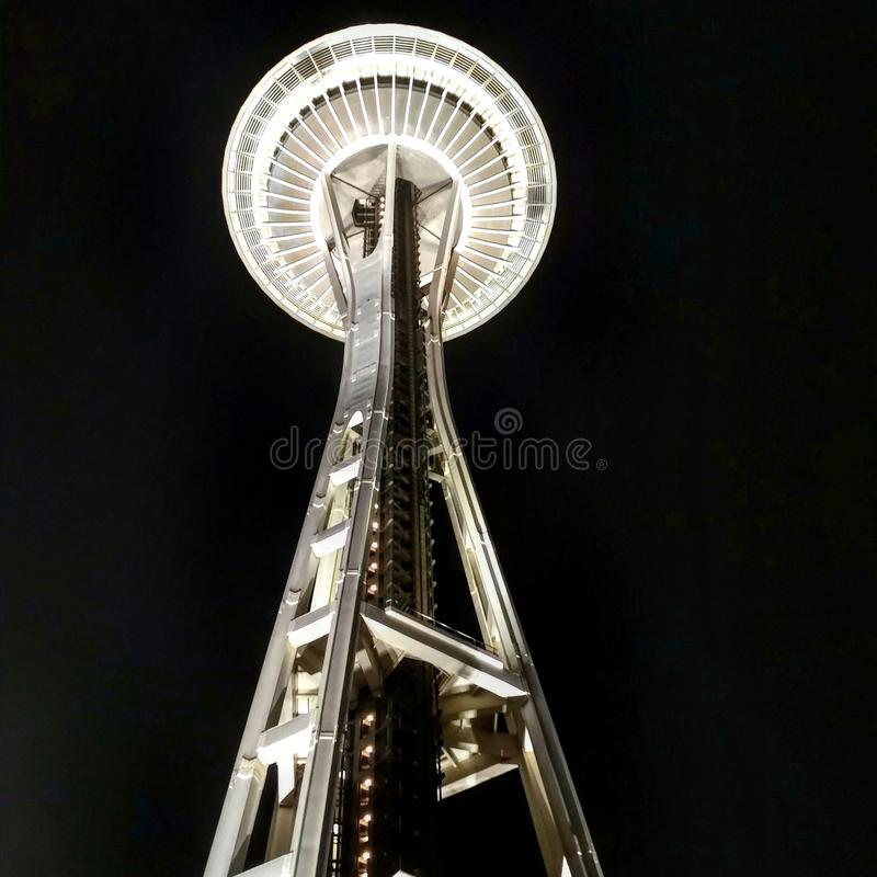 Space needle stock images