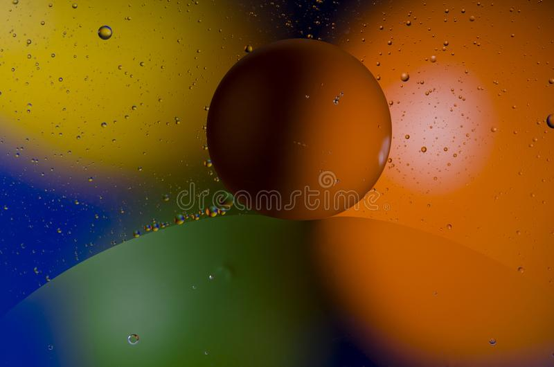 Space or planets universe cosmic abstract background. Abstract molecule atom sctructure. Macro shot of air or molecule. Abstract stock image