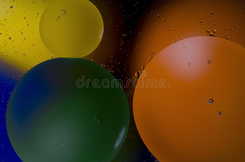 Space or planets universe cosmic abstract background. Abstract molecule atom sctructure. Macro shot of air or molecule. Abstract royalty free stock photography