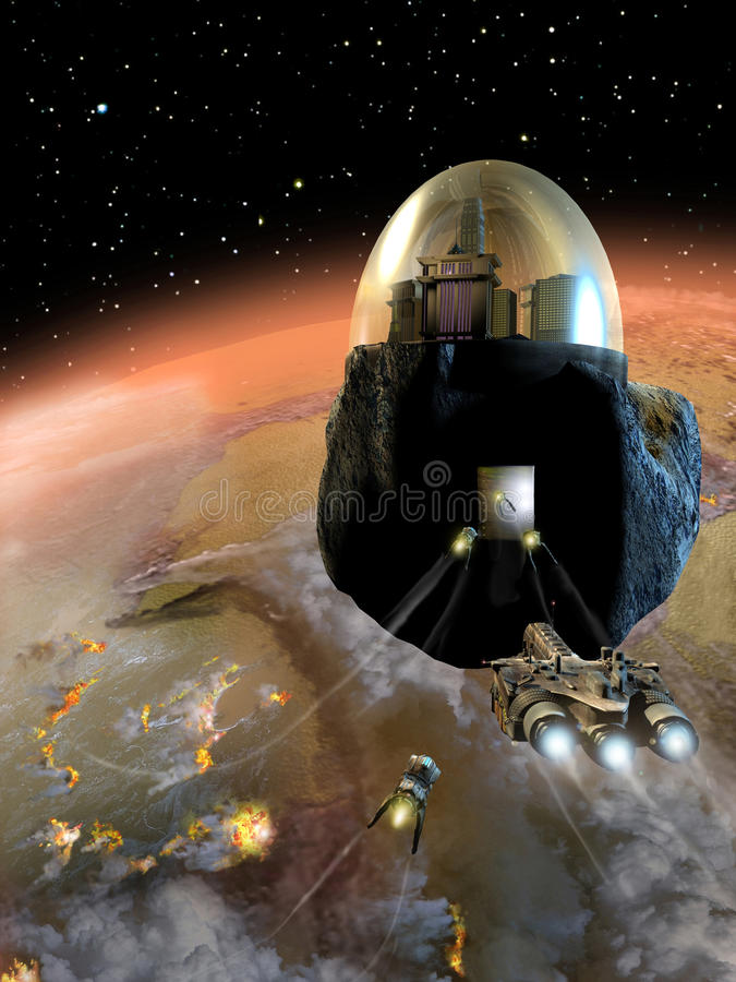 Download Space Refuge Royalty Free Stock Photos - Image: 16250088