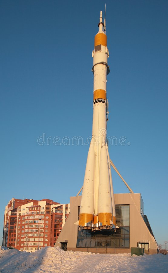 Free Space Rocket - Monument Stock Images - 4485354