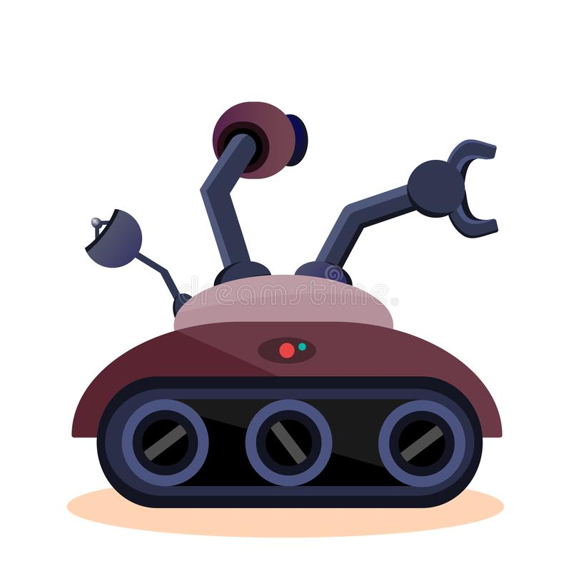 Space rover for study royalty free illustration