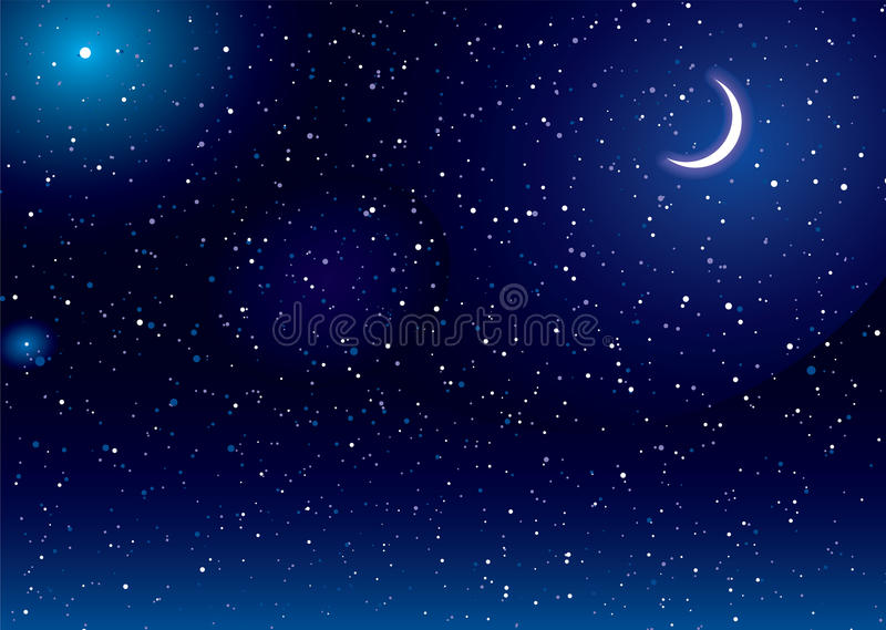 Download Space scape moon stock illustration. Image of abstract - 27034029