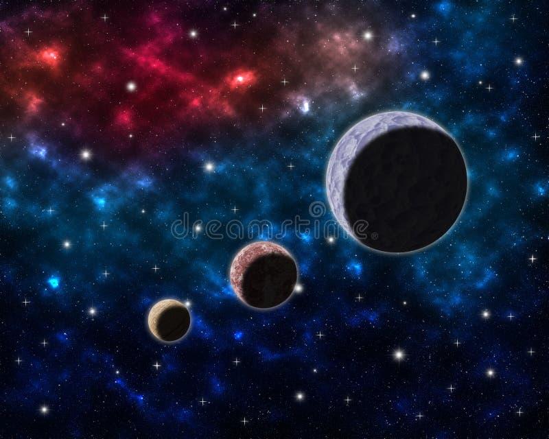 Colors Galaxy Glow Nebula Pink Planets Sky Space Stars Ufo