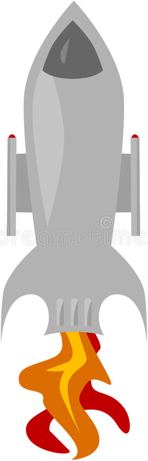 Download Space Ship stock illustration. Image of speed, launch - 3729403