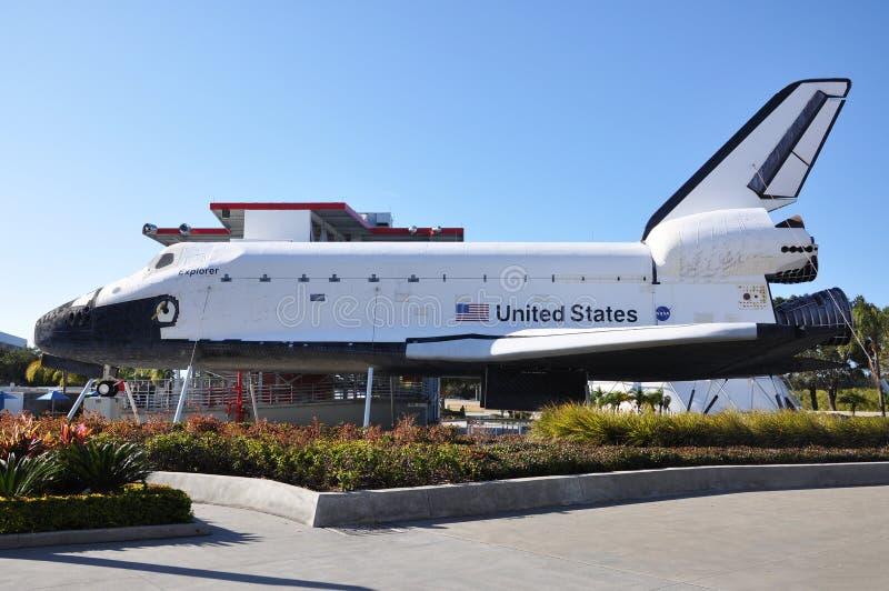 Space Shuttle Explorer, Florida, USA stock image