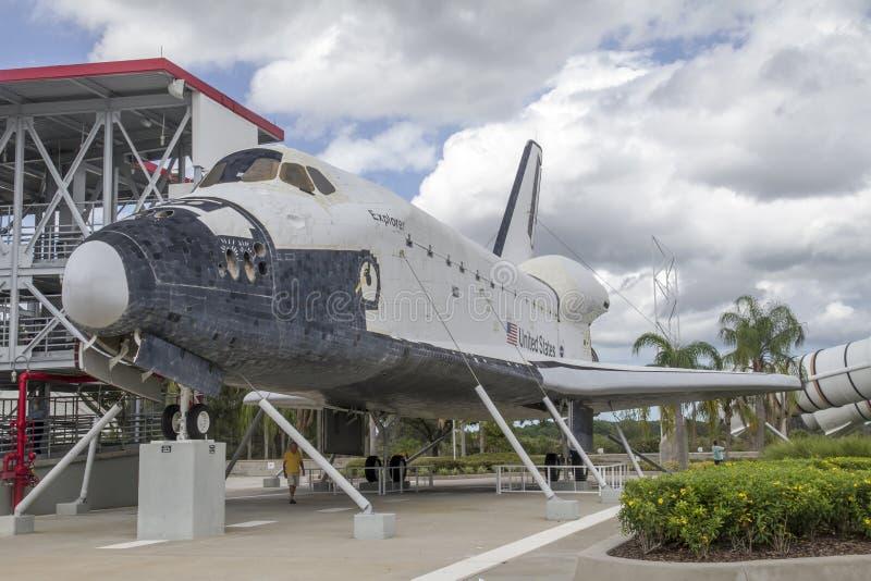 Space Shuttle Explorer stock photo