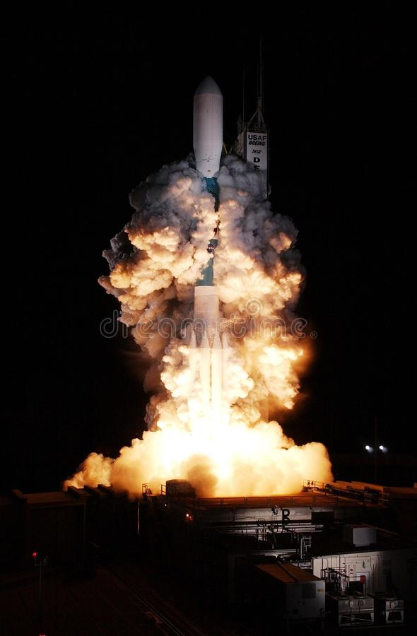 Space shuttle launch royalty free stock images