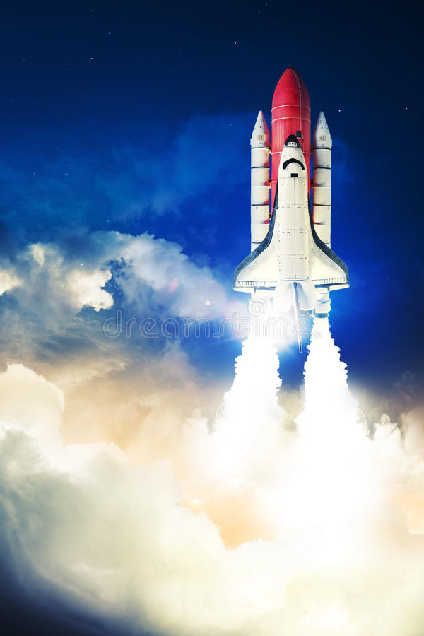 Space shuttle royalty free stock photos