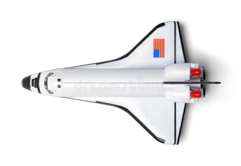 Space Shuttle Top royalty free stock image