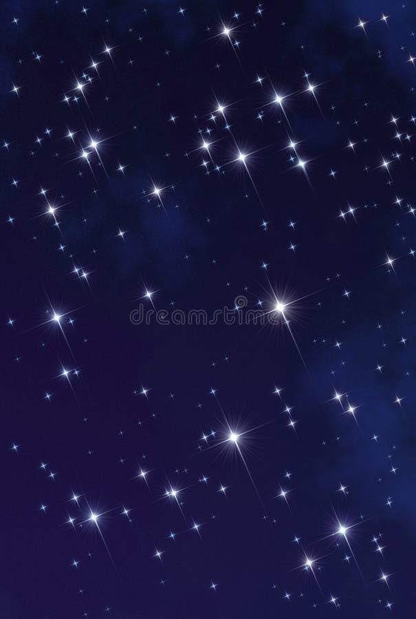 Space star nebula royalty free stock photography