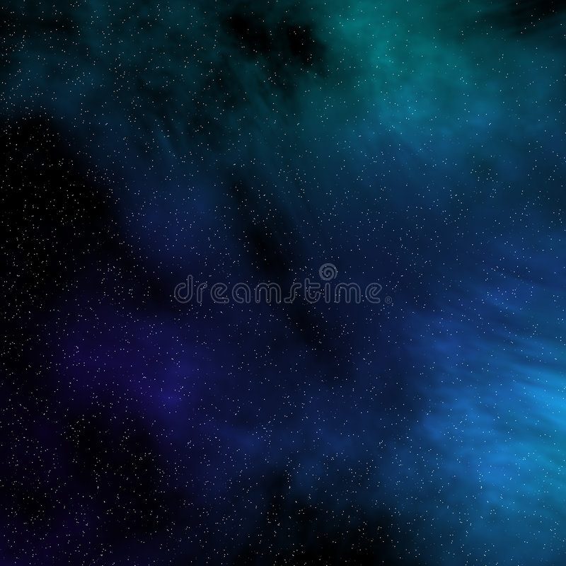 Space starfield vector illustration