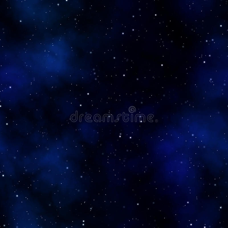 Space Starry Nebula stock illustration