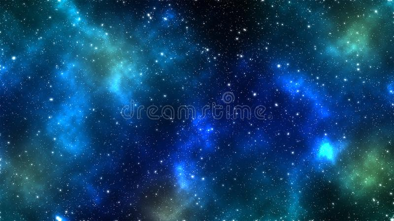 Space and the starry sky stock photos