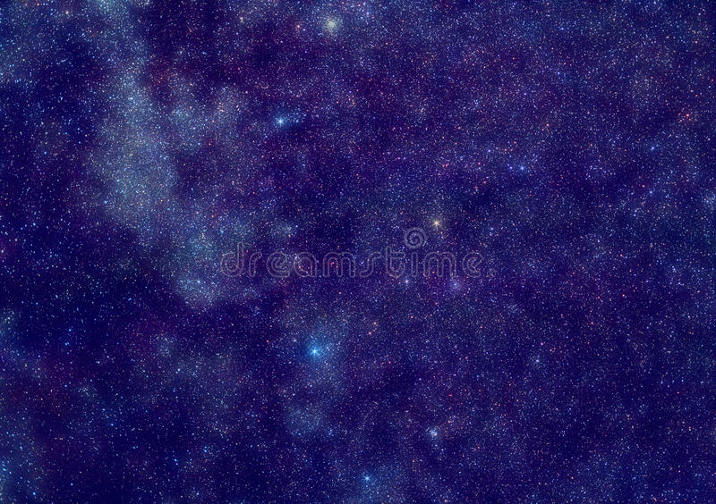 Space Stars Royalty Free Stock Photography