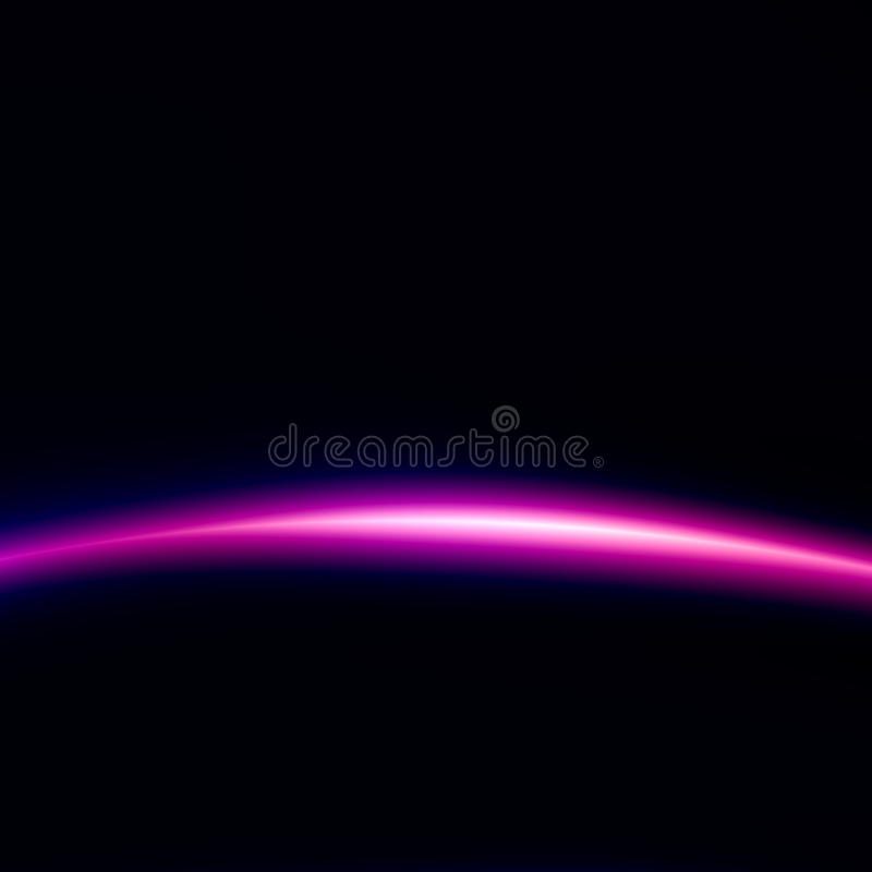 Space Technology Background. Beautiful Black Light. Creative Abstract Image. Digital Illustration for Web Design. Alien Effect. stock illustration