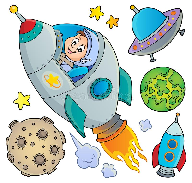 Space topic collection 1. Eps10 vector illustration vector illustration