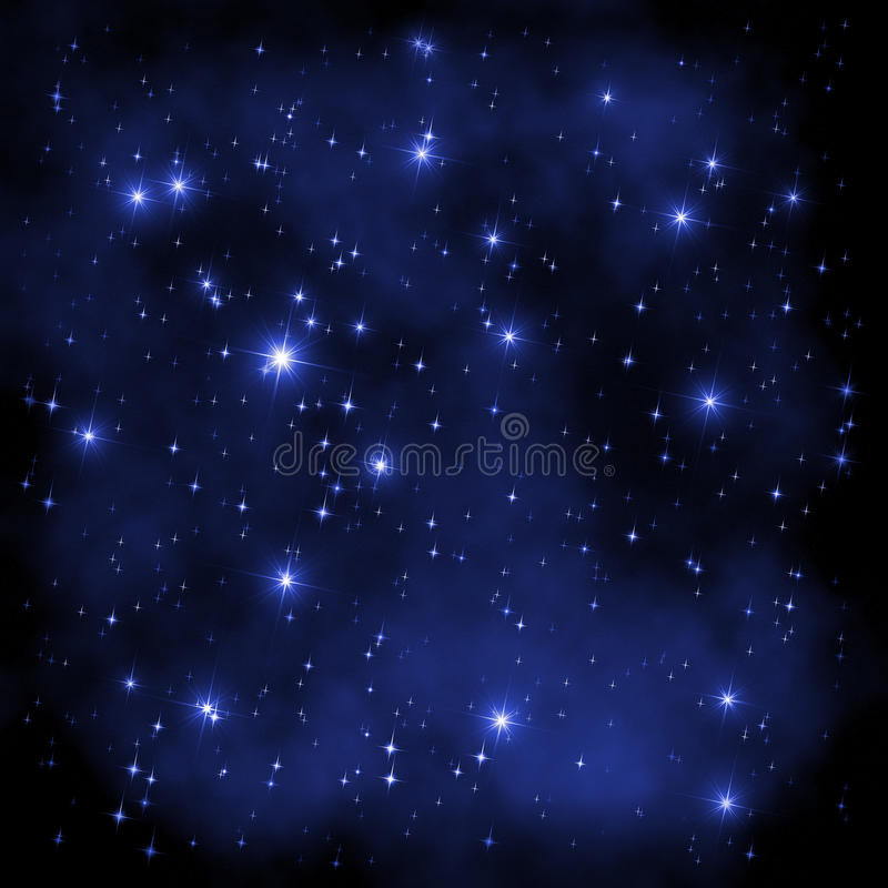 Space Universe stars stock illustration
