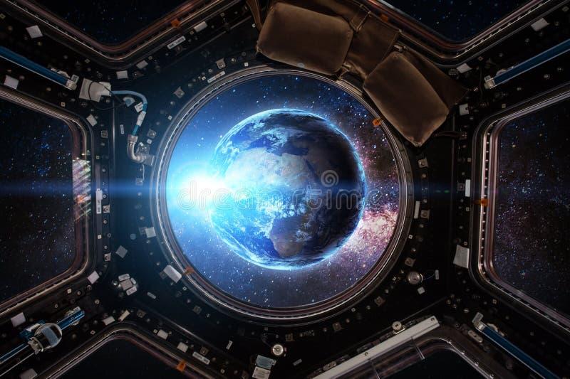 spacecraft Éléments de cette image meublés par la NASA illustration libre de droits