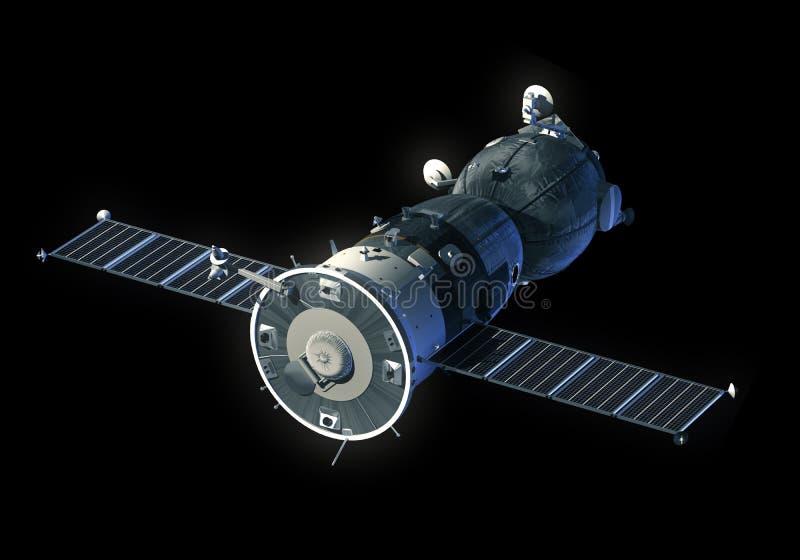 spacecraft stock de ilustración