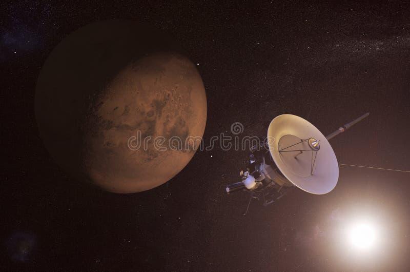spacecraft ilustração stock