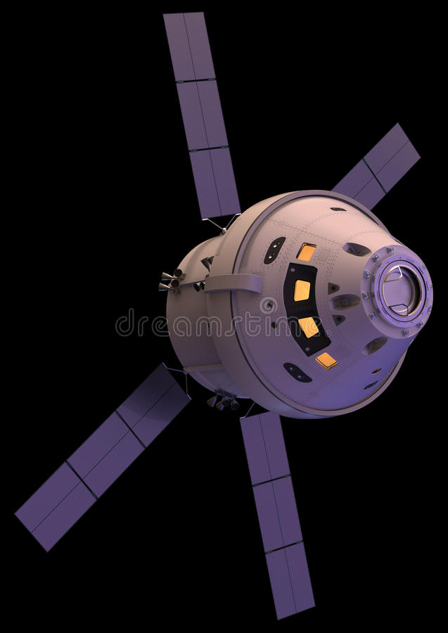 spacecraft image stock