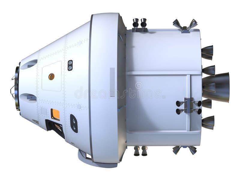spacecraft illustrazione di stock