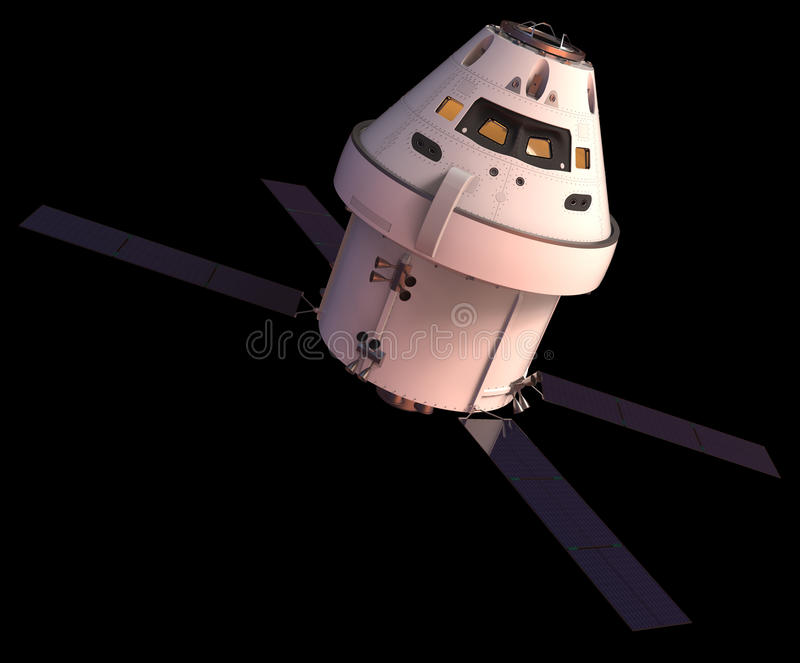 spacecraft images stock