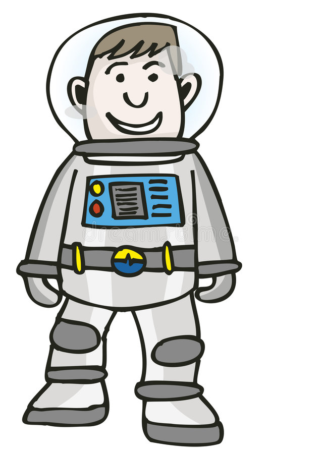spaceman stock illustrationer