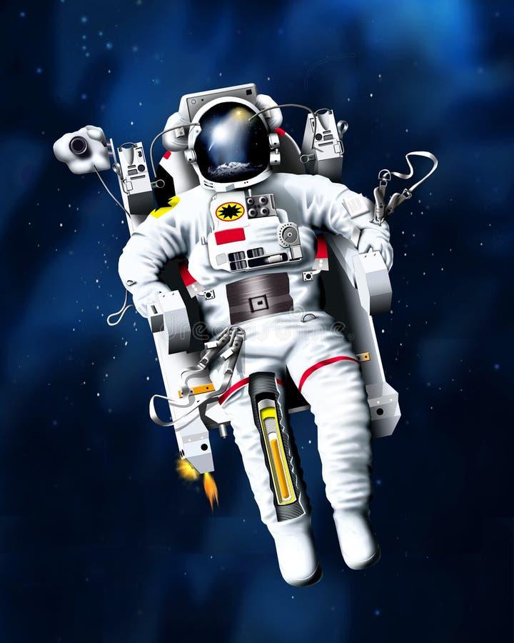 spaceman διανυσματική απεικόνιση
