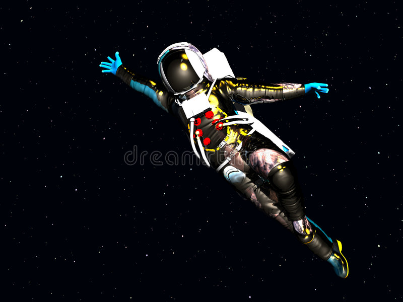 Spaceman 36 royalty free stock photos