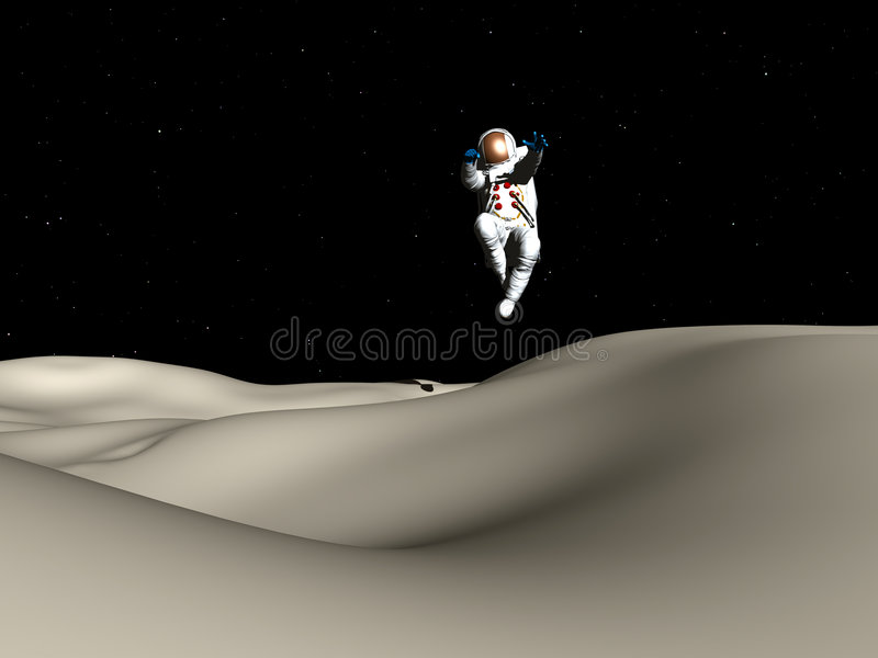 Download Spaceman 57 stock illustration. Image of conceptual, space - 1454042