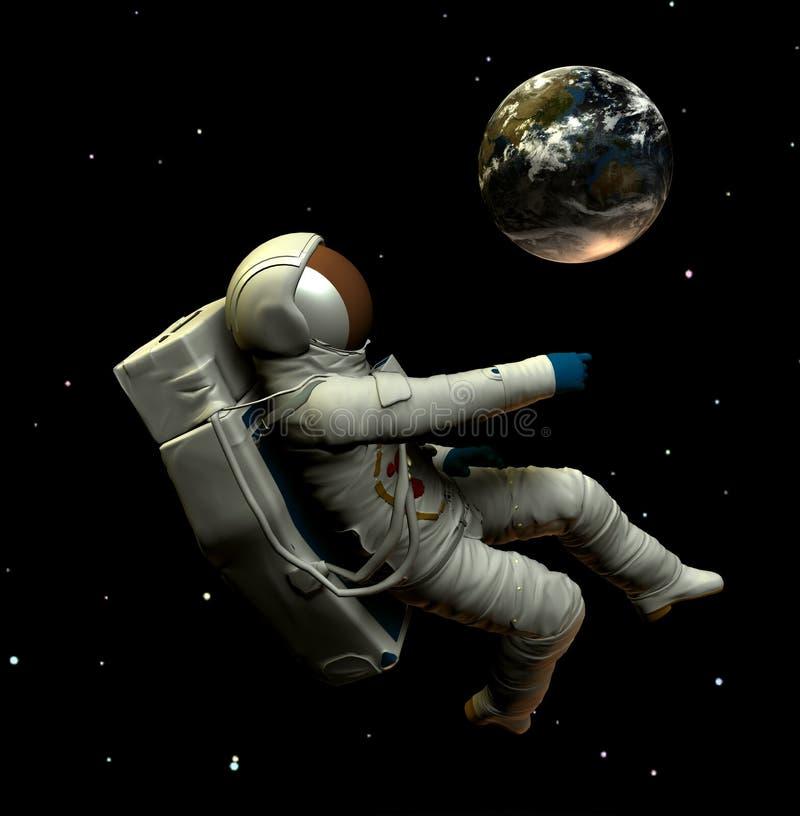 Spaceman 7 Στοκ Εικόνες