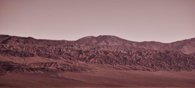Spacer na Mars obraz stock