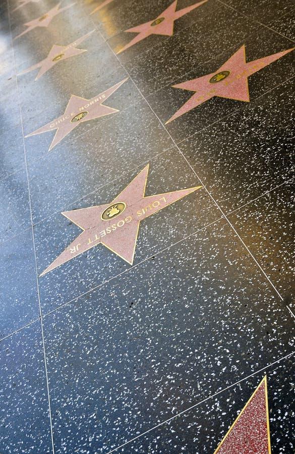 Spacer sława, Hollywood zdjęcie stock