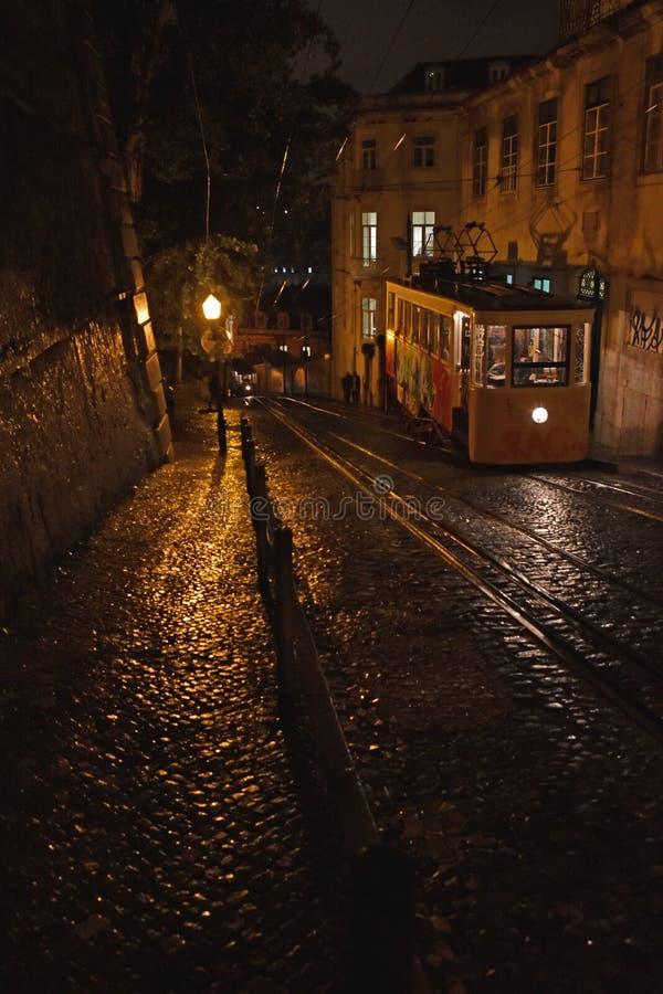 Spacer w Lisbon zdjęcia stock