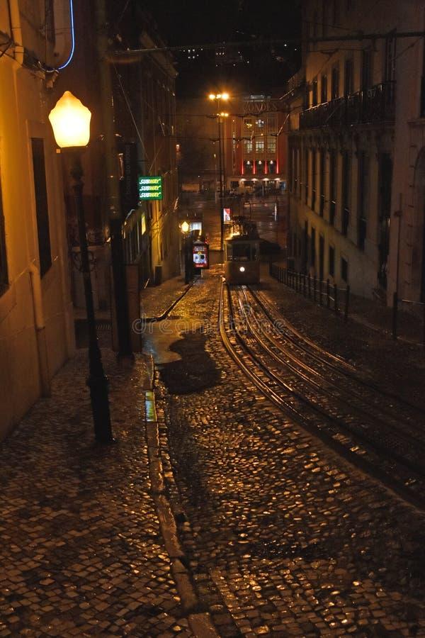 Spacer w Lisbon zdjęcie stock