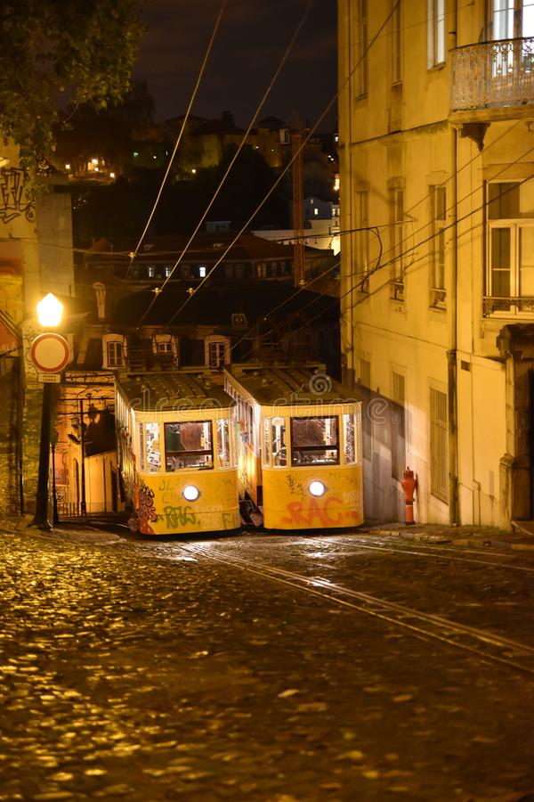 Spacer w Lisbon fotografia stock