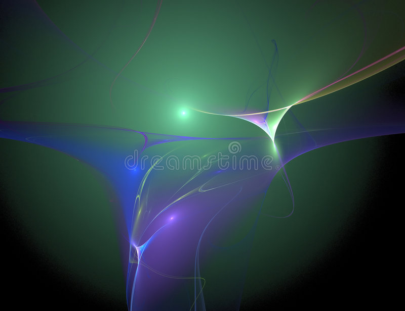 spaceribbon στοκ εικόνα
