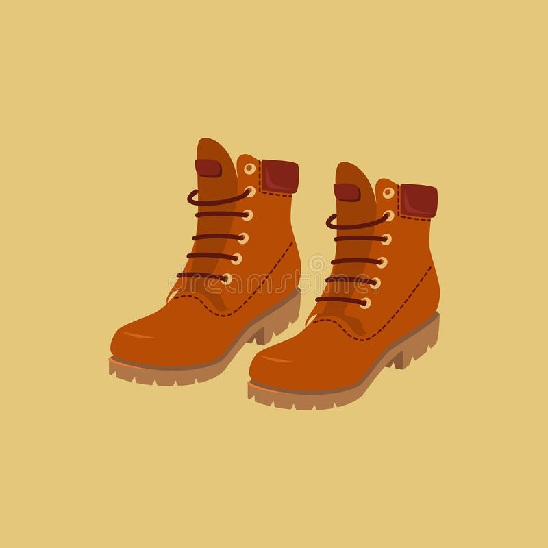 spacery butów royalty ilustracja
