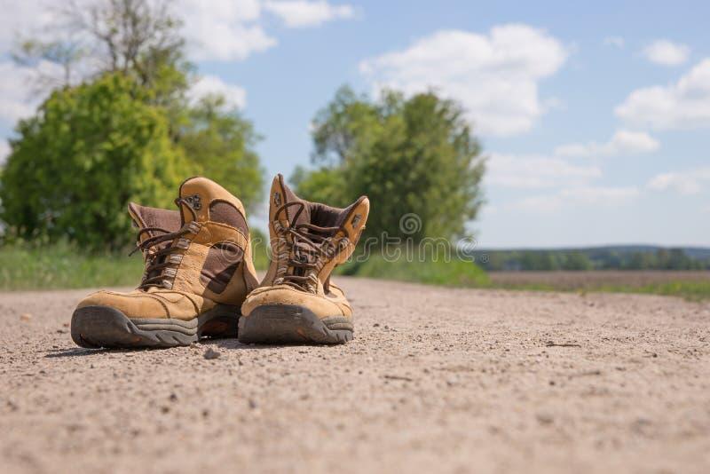 spacery butów obrazy royalty free