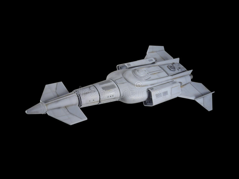 Spaceship ένα στοκ φωτογραφία