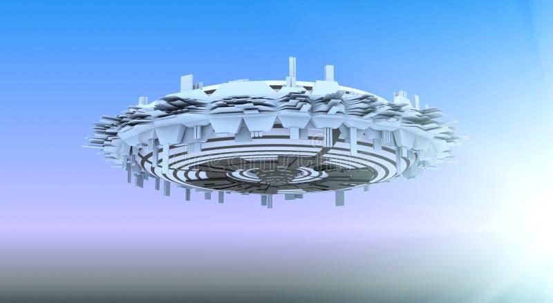 spaceship ελεύθερη απεικόνιση δικαιώματος
