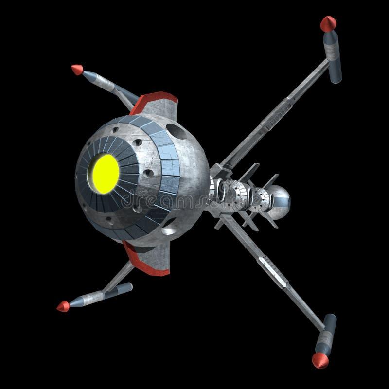 spaceship ilustración del vector