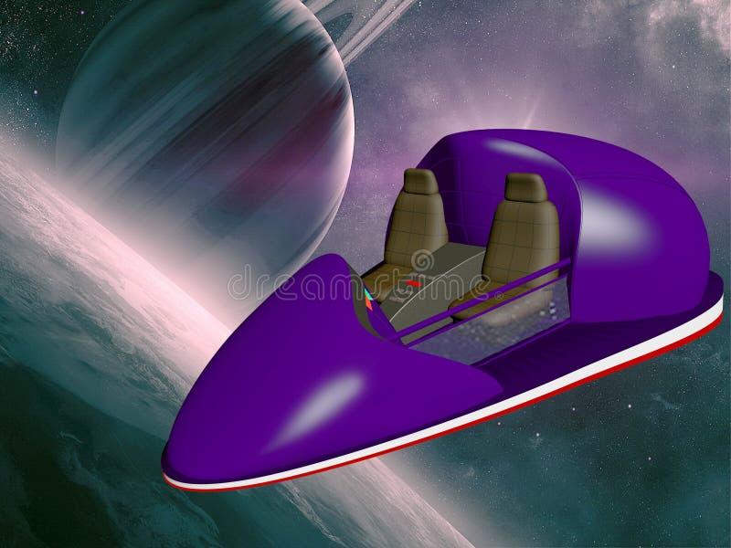 spaceship fotografia stock libera da diritti